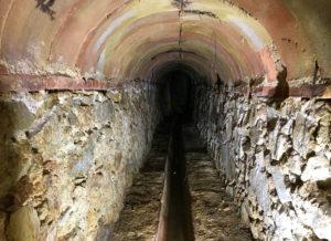 La mina del Jardí Botànic Marimurtra